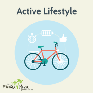 Active lifestyle to combat cravings
