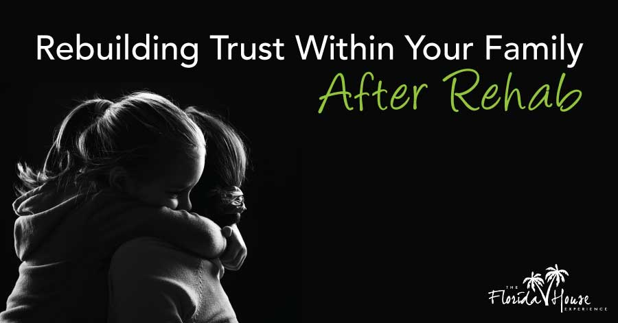 Rebuilding trust within your family