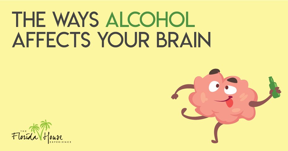 Ways alcohol affects your brain