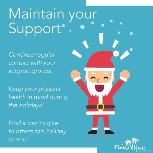 Maintain Your Support in the Holiday Season