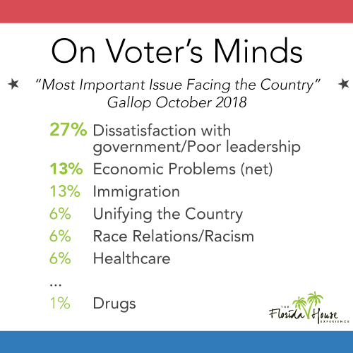 Most important midterm issues for voters
