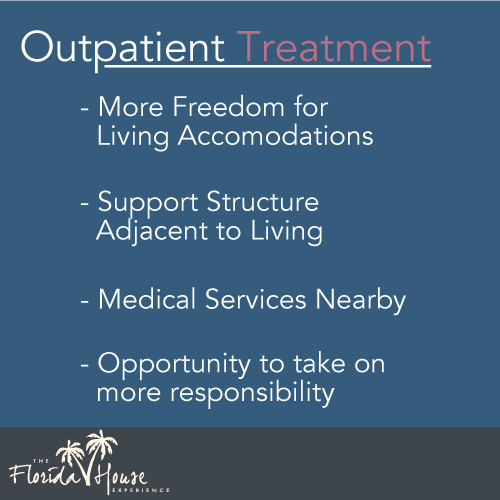 Description of Outpatient treatment
