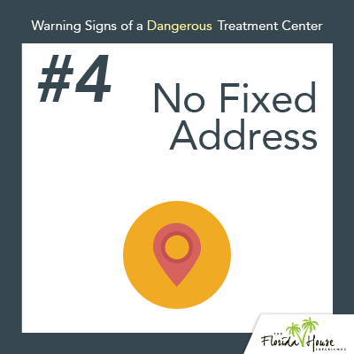Warning signs of a dangerous treatment center