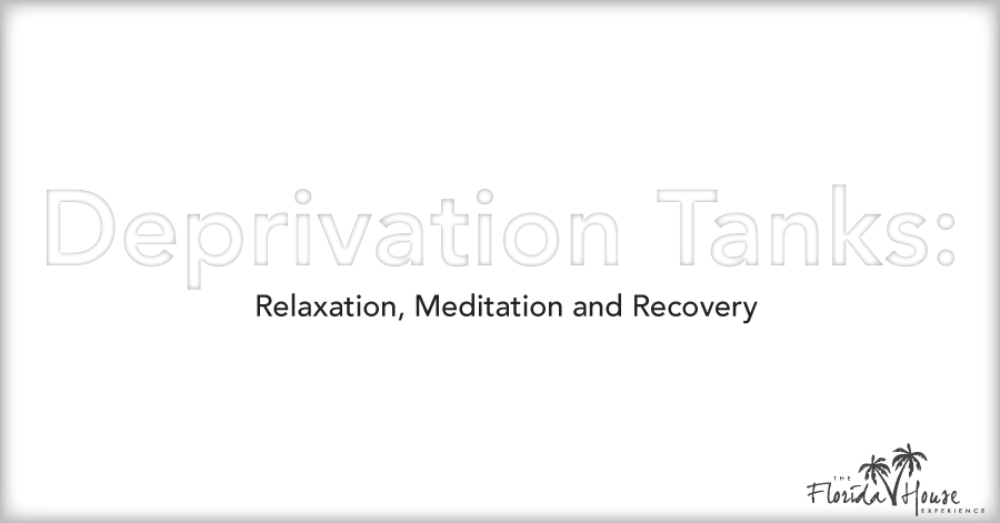 Deprivation tanks for addiction recovery?