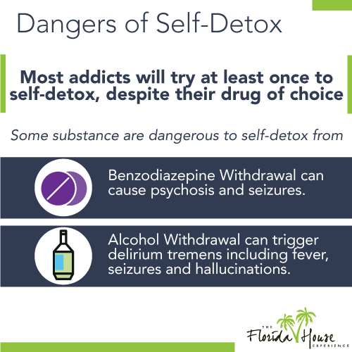 The dangers of trying to do a self-detox