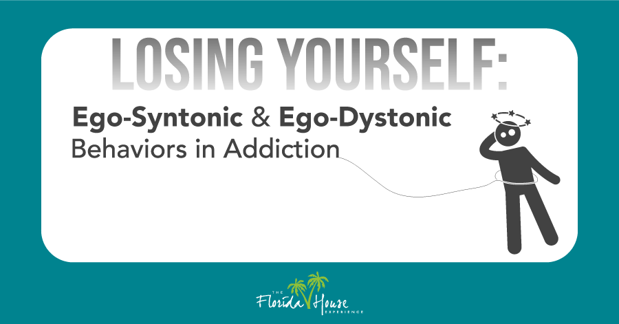 How EgoDystonic behavior begins controlling the addict