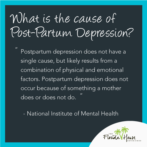 What is the pathology of post-partum depression - does my wife have it?