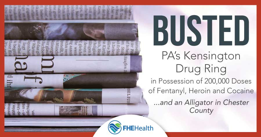 PA Kensington Drug Ring Bust