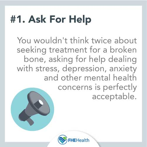 Don't be afraid to ask for help when it comes to substance abuse