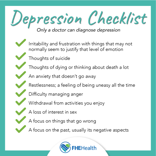 The Depression Checklist