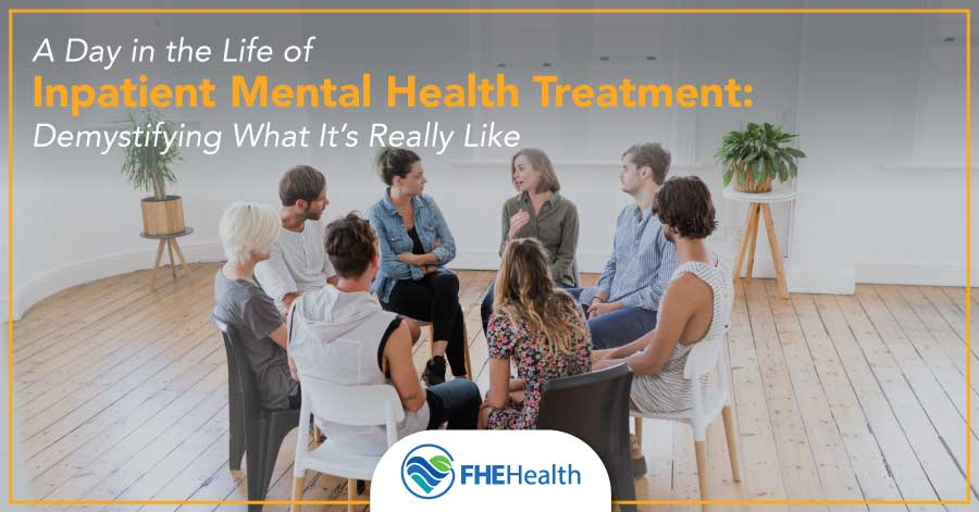 A Day in the life of inpatient mental health treatment