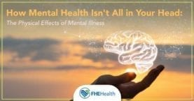 The relationship between physical health and mental health