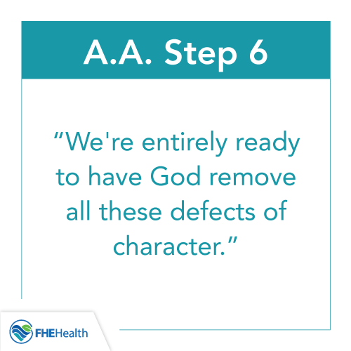 Step 6 of AA