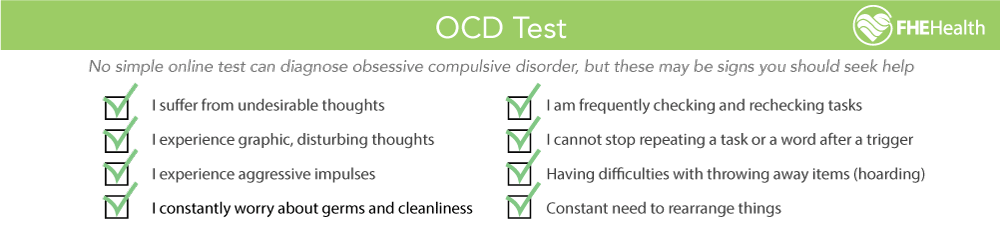 OCD Test - Example questions