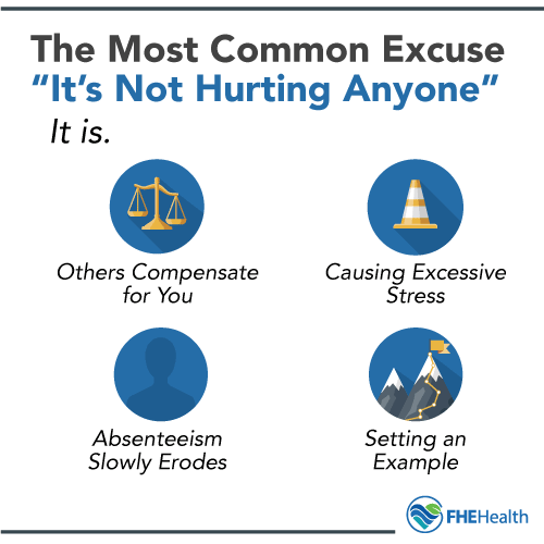 The Most Common Excuse is: My Drug Use Isn't Hurting Anyone - but it is