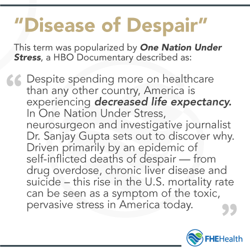 Diseases of Despair