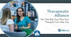 How therapeutic alliance will improve your therapy