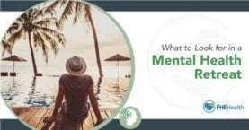 mental health retreat for depression or anxiety