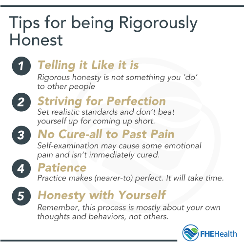 Tips for being rigorously honesty