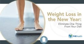 Weight Loss in the New Year: Eliminate One Thing From Your Diet