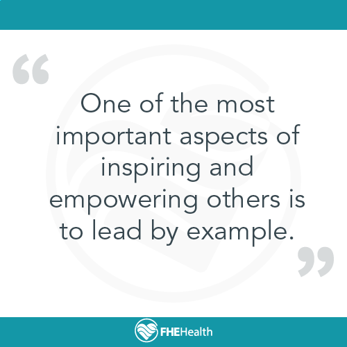 One of the most important aspects of inspiring and empowering