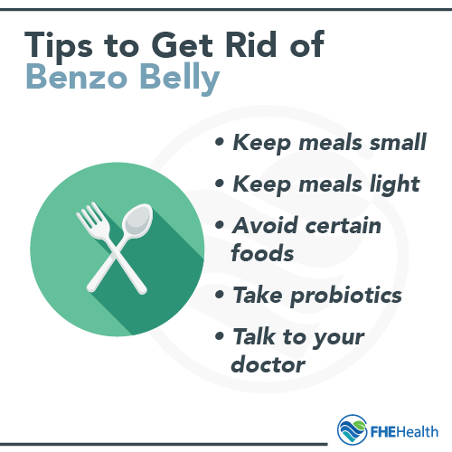 Tips to Get Rid of Benzo Belly
