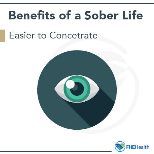 Benefits of being sober curious - improved concentration