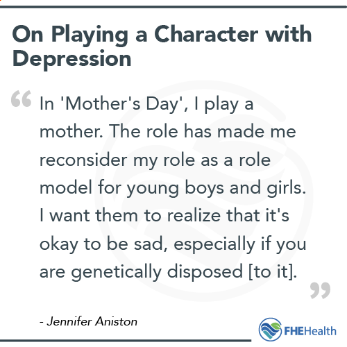 Aniston on Playing a Character with Depression