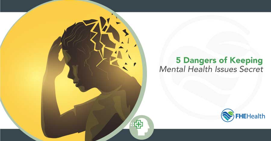 5 Dangers of Hiding Mental Health Issues