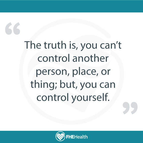 The Truth is, you can't control others