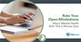 Rate your Openmindedness on mental health