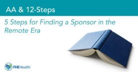 12-Steps Finding a sponsors