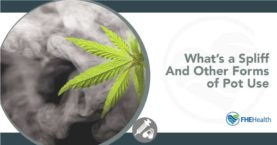 What is a spliff and other forms of pot use